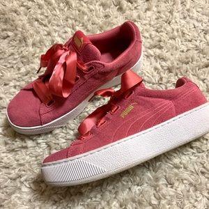 platform puma sneakers
